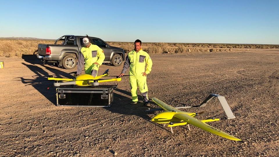 Drones de la startup Uali