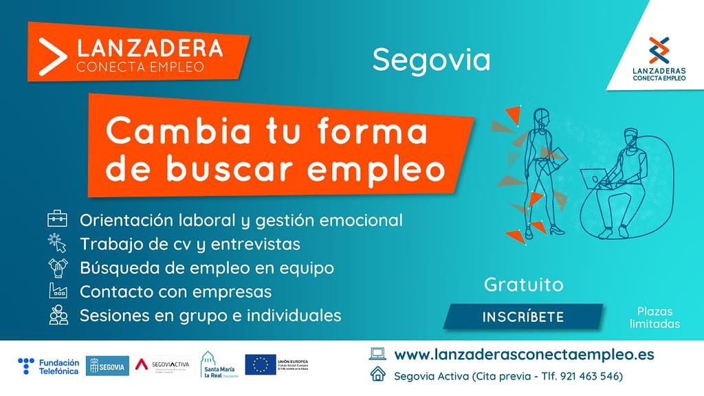 Lanzadera empleo Segovia
