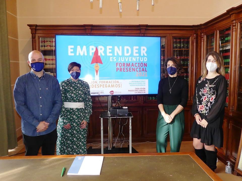 Presentación del nuevo programa Emprender Es Juventud