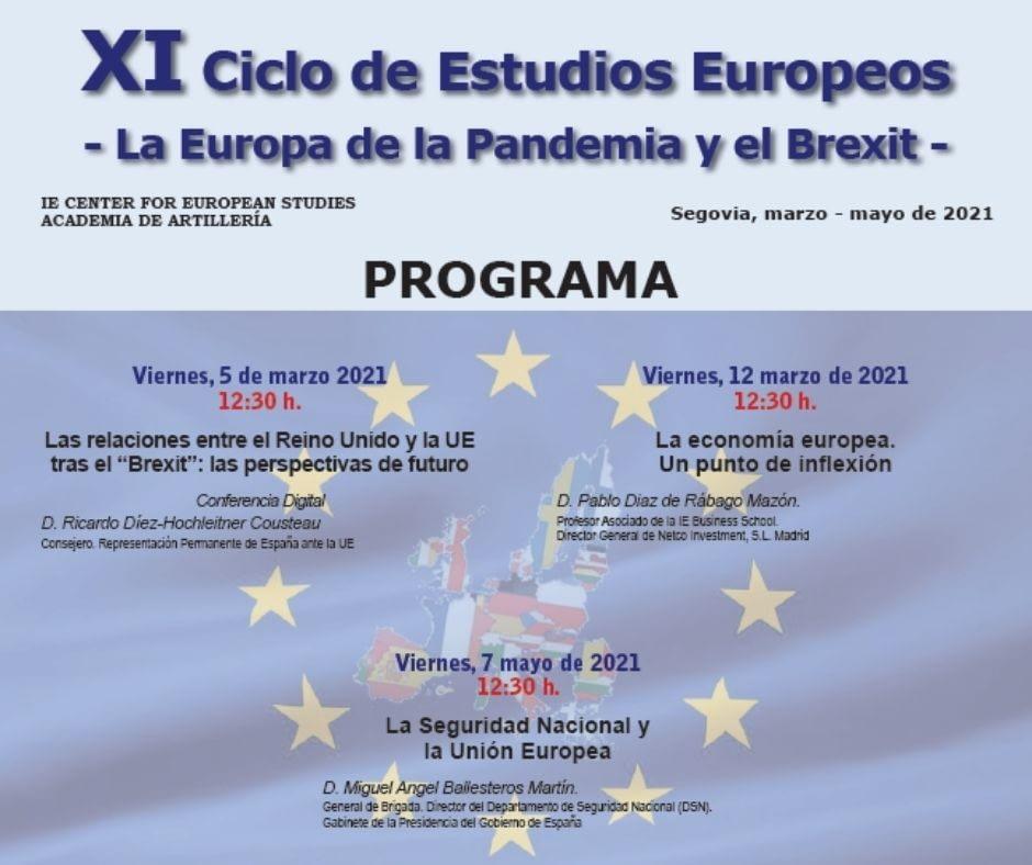 XI Ciclo de Estudios Europeos