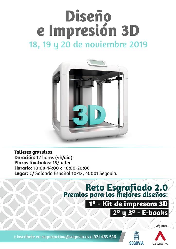 CARTEL DISE+æO 3D 2019