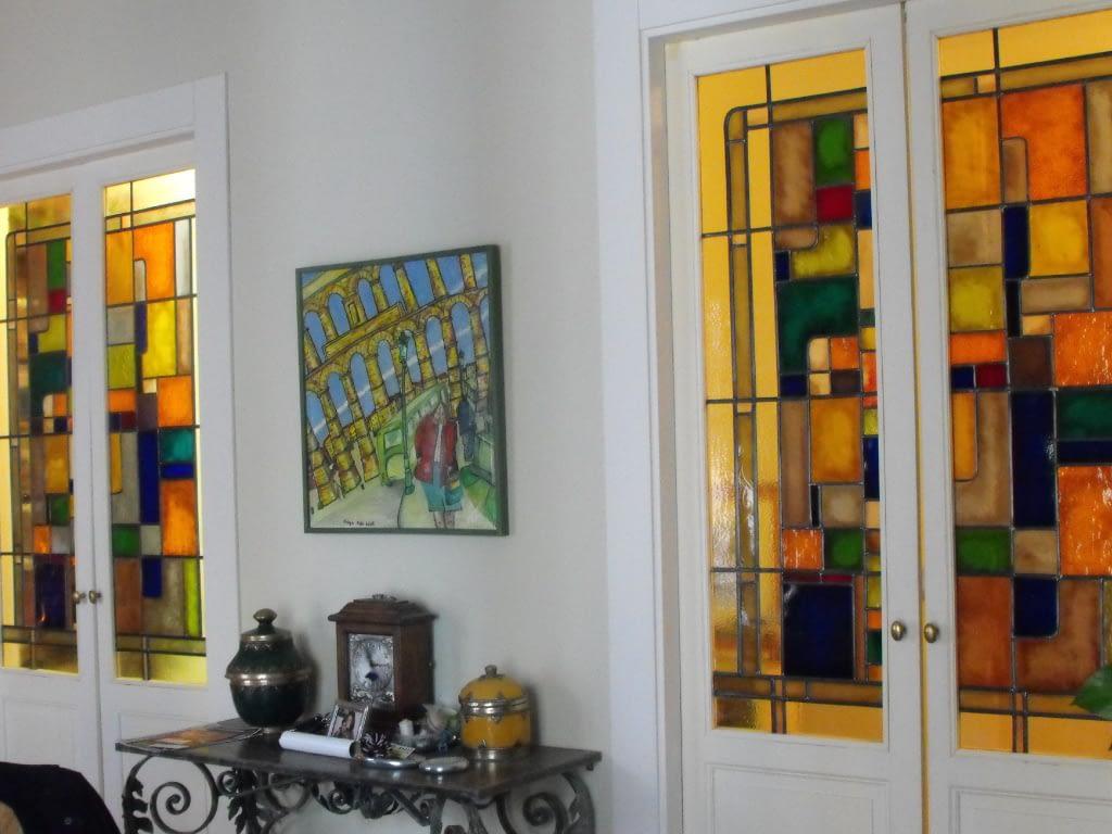 Ejemplos de vidrieras en VITREX