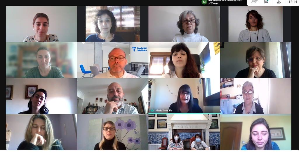 Videoconferencia Lanzadera Conecta Empleo