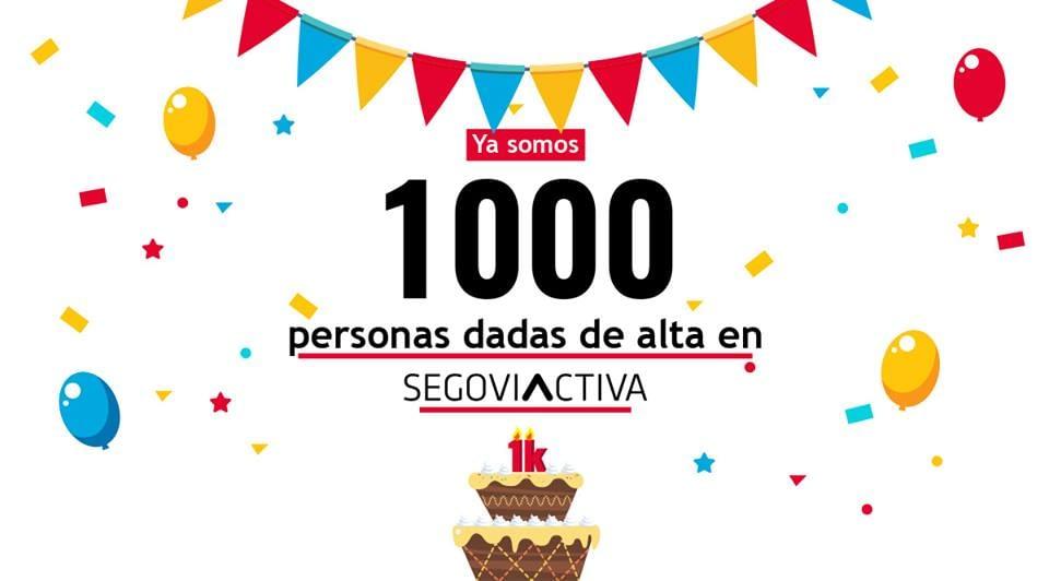 YA SOMOS 1000